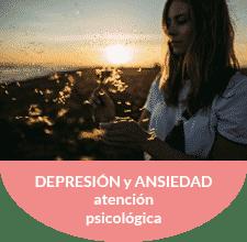 Atención psicológica de ansiedad y depresión