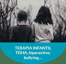 Terapia Infantil. TDHA, hiperactividad, bullying