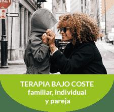 Terapia de bajo coste. Familiar, individual y pareja
